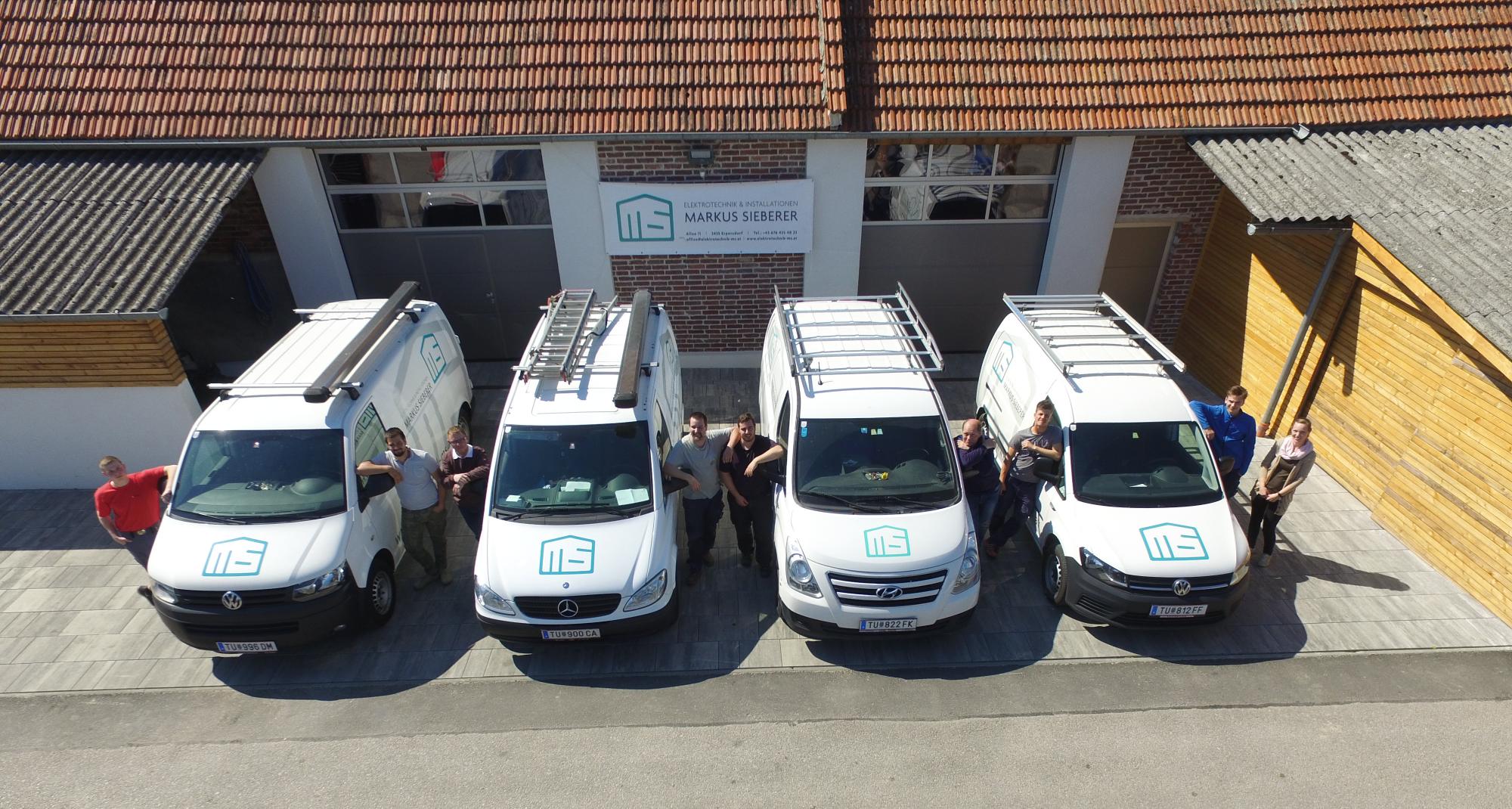 Team und Autos Haustechnik Markus Sieberer